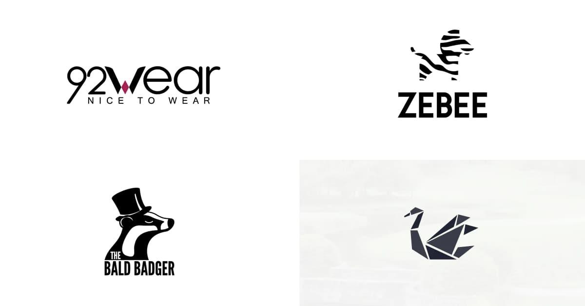 Cách chọn màu Logo: Logo màu đen