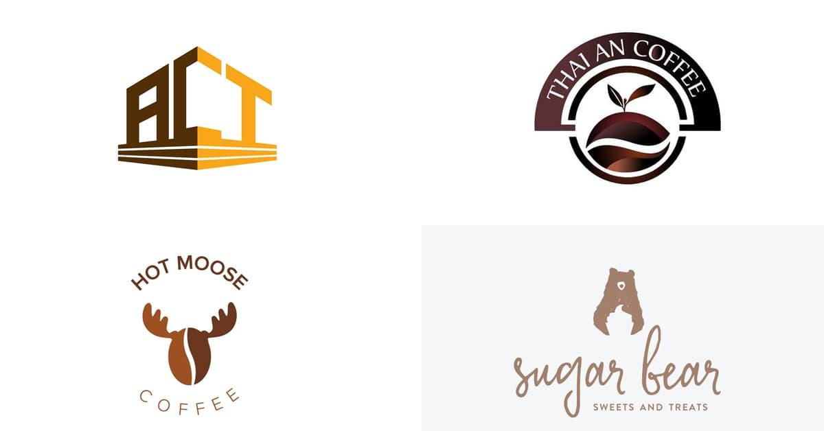 Cách chọn màu Logo: Logo màu nâu