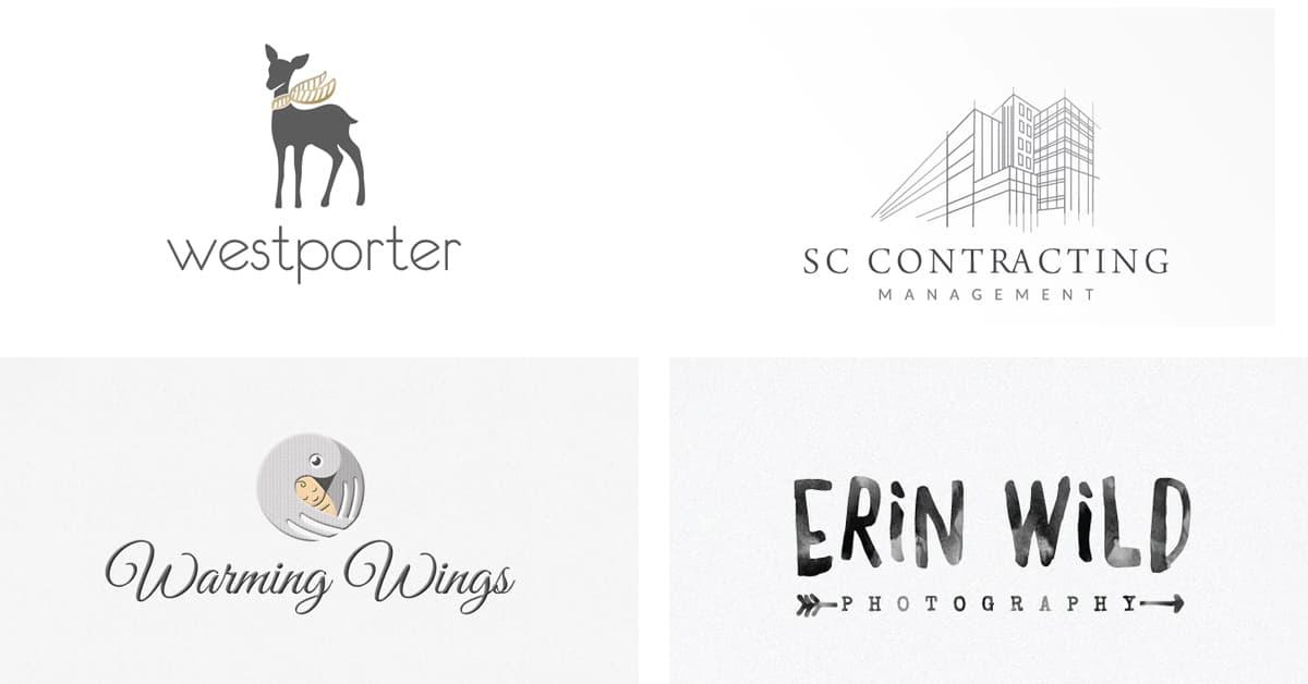 Cách chọn màu Logo: Logo màu xám