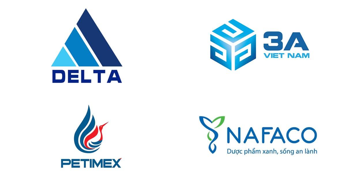 Cách chọn màu Logo: Logo màu xanh dương