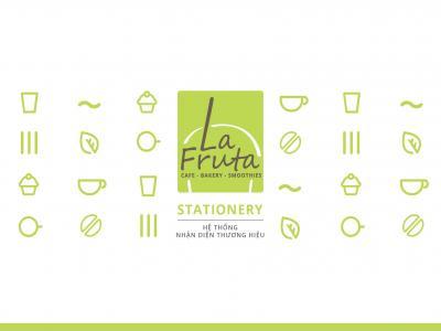 La Fruta Café - Dự án thiết kế nhận diện thương hiệu chuỗi cửa hàng café – nước trái cây La Fruta