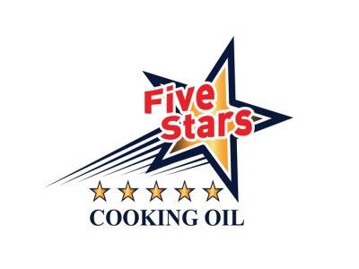5 STARS - Thiết kế thương hiệu dầu ăn 5Stars