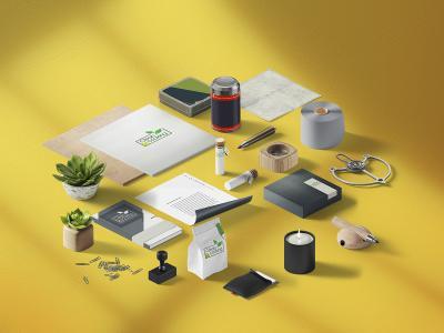CLEAN COOKING - Thiết kế logo và ấn phẩm marketing thương hiệu thực phẩm Clean Cooking