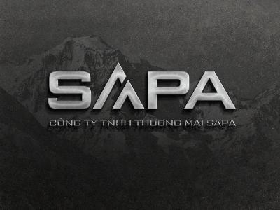 SAPA - Thiết kế logo công ty thương mại Sapa