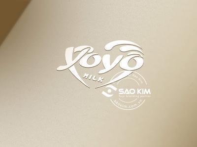 YOYO - Thiết kế logo sữa Yoyo