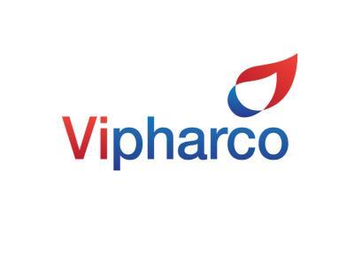 VIPHARCO - Thiết kế logo và nhận diện thương hiệu dược phẩm - y tế VIPHARCO