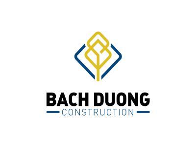 Thiết kế logo và nhận diện thương hiệu công ty xây dựng Bạch Dương
