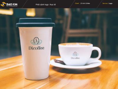 DI COFFEE - Thiết kế logo Di coffee