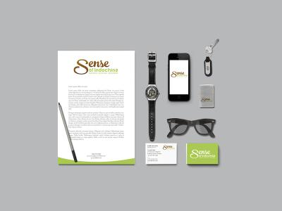 Thiết kế logo công ty du lịch Sense of Indochina