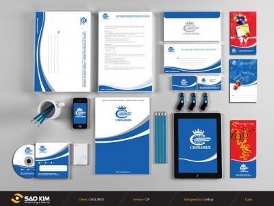 Thiết kế logo và quy chuẩn bộ nhận diện thương hiệu CHOLIMEX