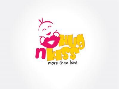 HUGNKISS - Thiết kế logo và hế thống nhận diên cho siêu thị thời trang HUGNKISS