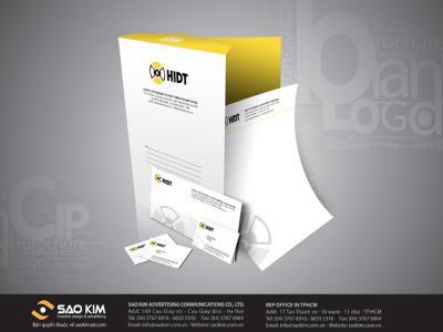 Thiết kế logo và nhận diện thương hiệu HIDT