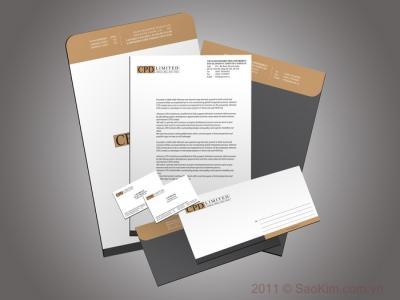 CPD LIMITED - Thiết kế nhận diện thương hiệu cho Công ty xây dựng