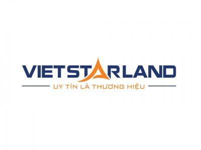 VietstarLand - Thiết kế logo và nhận diện thương hiệu lĩnh vực kinh doanh bất động sản VietstarLand