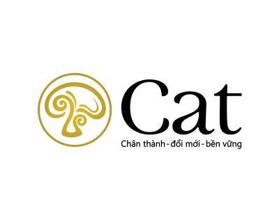 CAT - Thiết kế logo thực phẩm chức năng Cat