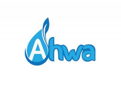 AHWA - Sáng tạo tên thương hiệu và thiết kế logo nước tinh khiết Ahwa