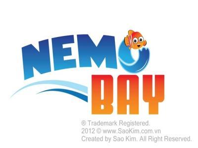 NEMO BAY - Sáng tạo tên thương hiệu và thiết kế nhận diện quầy hàng hải sản NEMO BAY