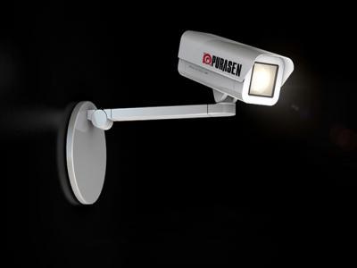 PURASEN - Dự án đặt tên và thiết kế thương hiệu camera giám sát