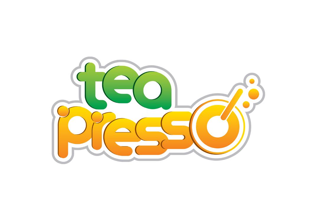 TEA PRESSO - Thiết kế logo và hệ thống nhận diện thương hiệu cửa hàng trà sữa TEA PRESSO