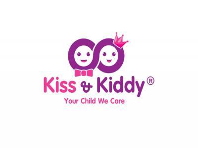 Kiss & Kiddy - Thiết kế logo nhận diện thương hiệu chuỗi cửa hàng trẻ em Kid & Kiddy