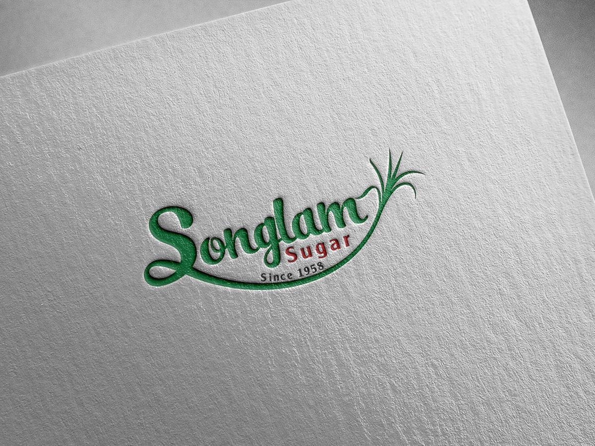Thiết kế logo công ty mía đường Sông Lam tại Nghệ An
