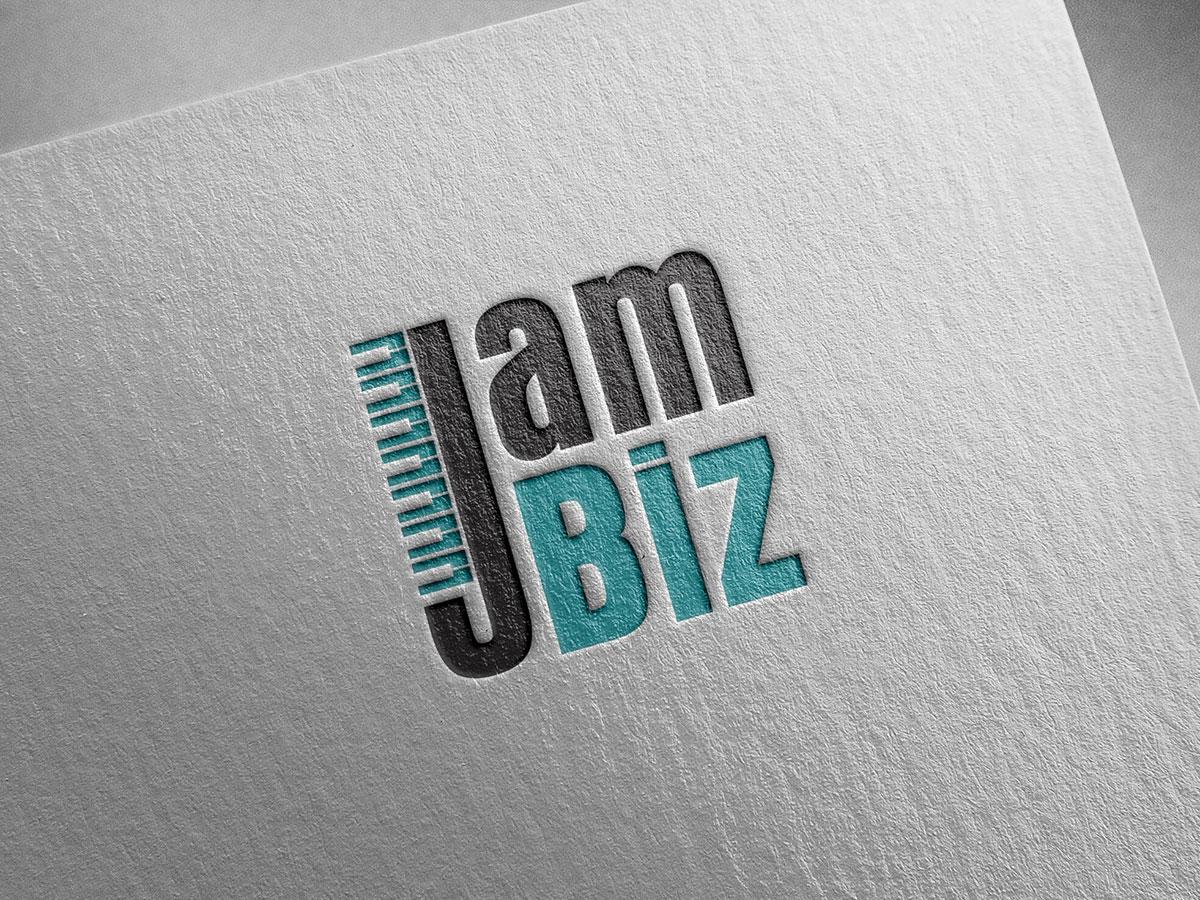 Thiết kế logo studio JamBiz tại Hà Nội