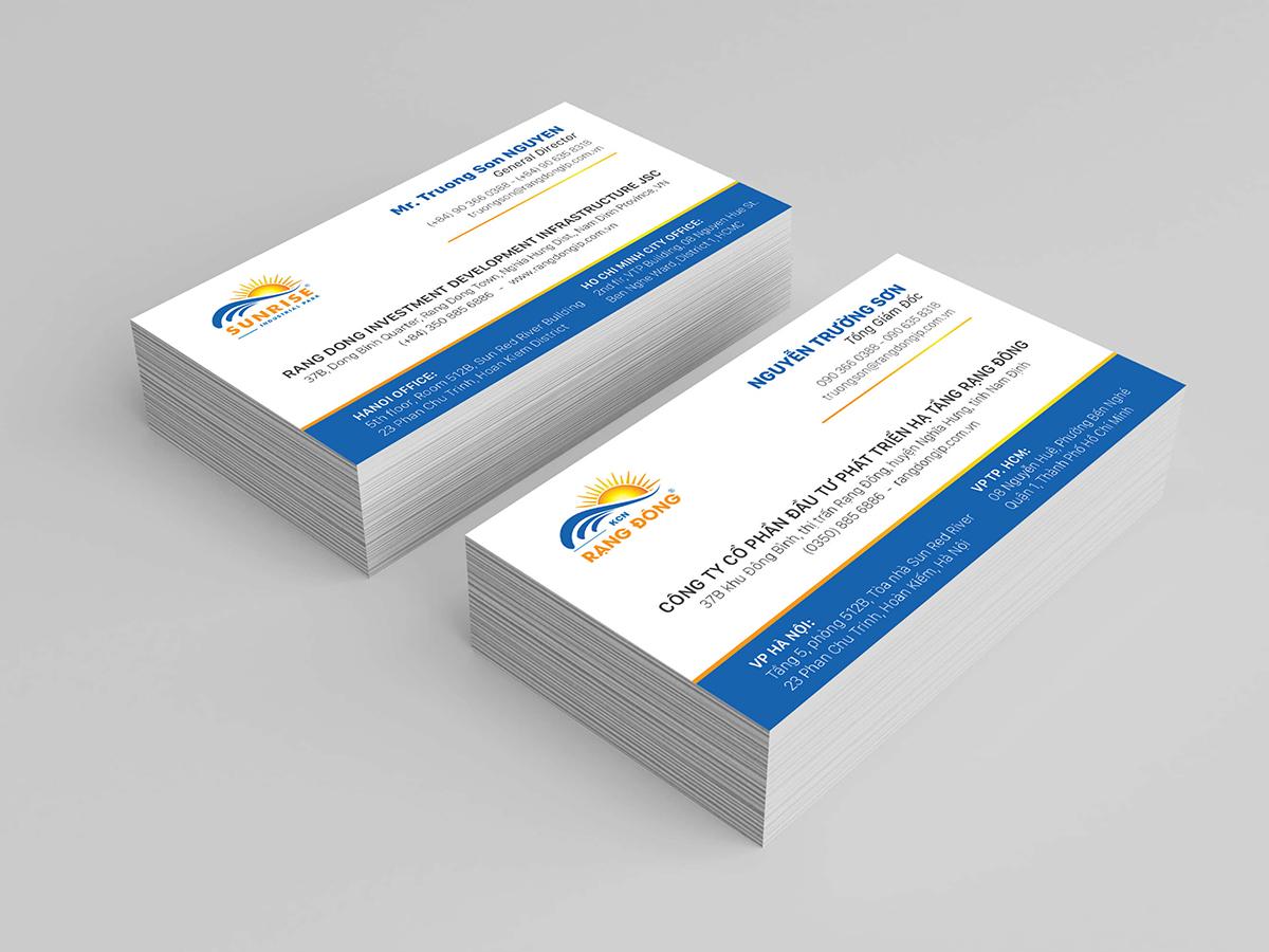 Thiết kế logo và bộ nhận diện Rạng Đông tại Bình Định