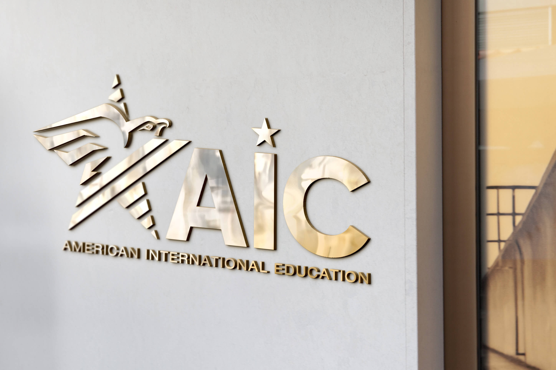 Thiết kế logo giáo dục AIC tại TP HCM