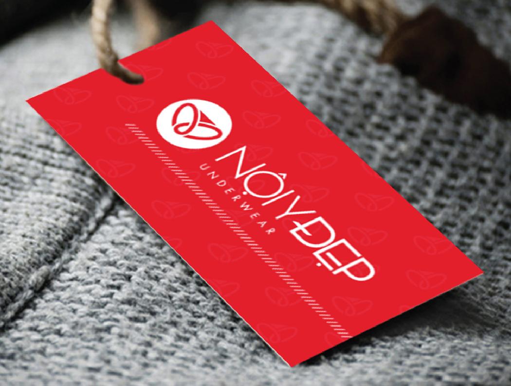 Thiết kế logo và vật phẩm quảng cáo thời trang NỘI Y ĐẸP