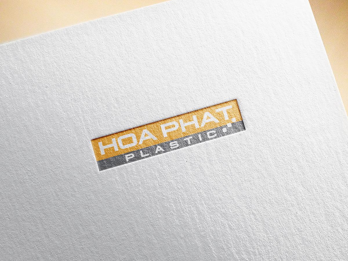 Thiết kế logo nhựa Hòa Phát tại Hà Nội