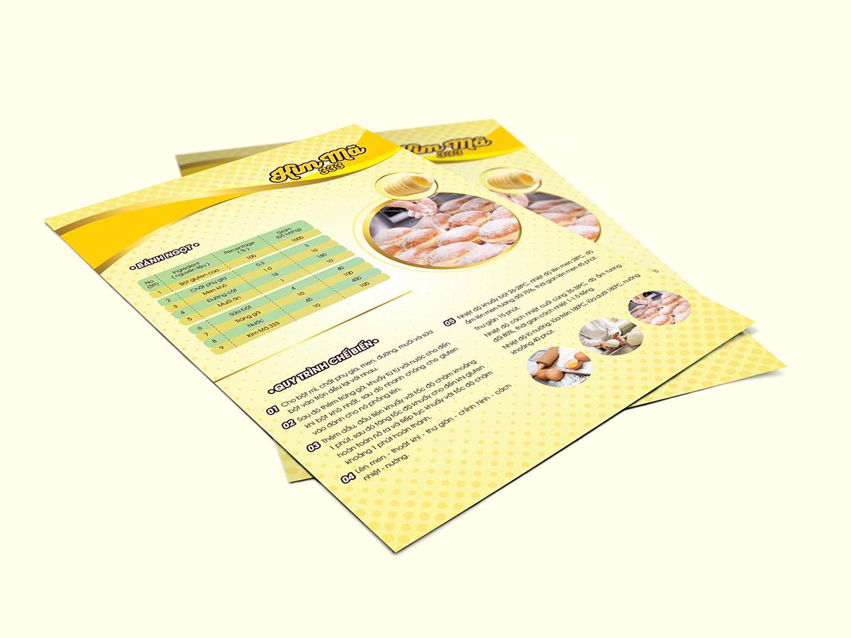 Thiết kế hệ thống bao bì sản phẩm và brochure dầu ăn tại Tiền Giang