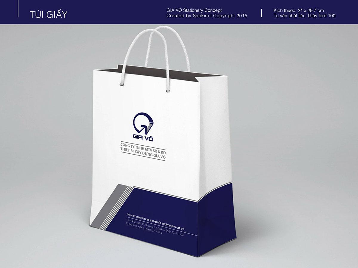 Thiết kế bộ nhận diện thương hiệu Gia Võ tại TP HCM