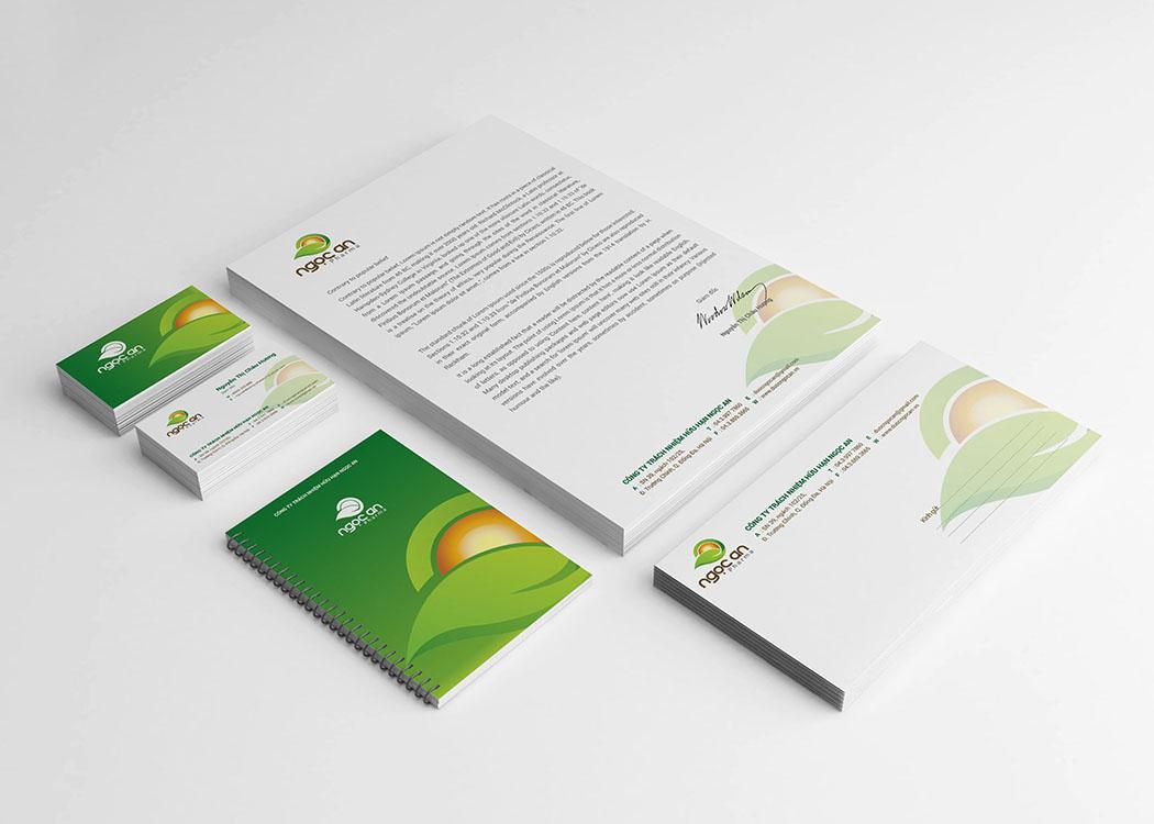 Thiết kế logo và đặt tên thương hiệu công ty dược phẩm Ngọc An Pharma tại Hà Nội