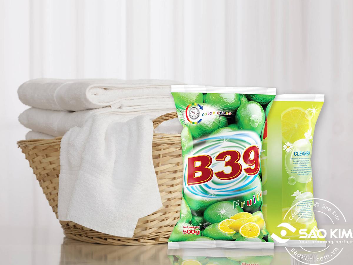 Thiết kế bao bì bột giặt Netco tại Đồng Nai