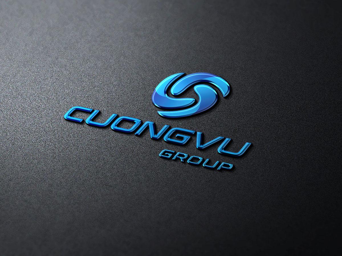 Thiết kế logo công ty Cường Vũ