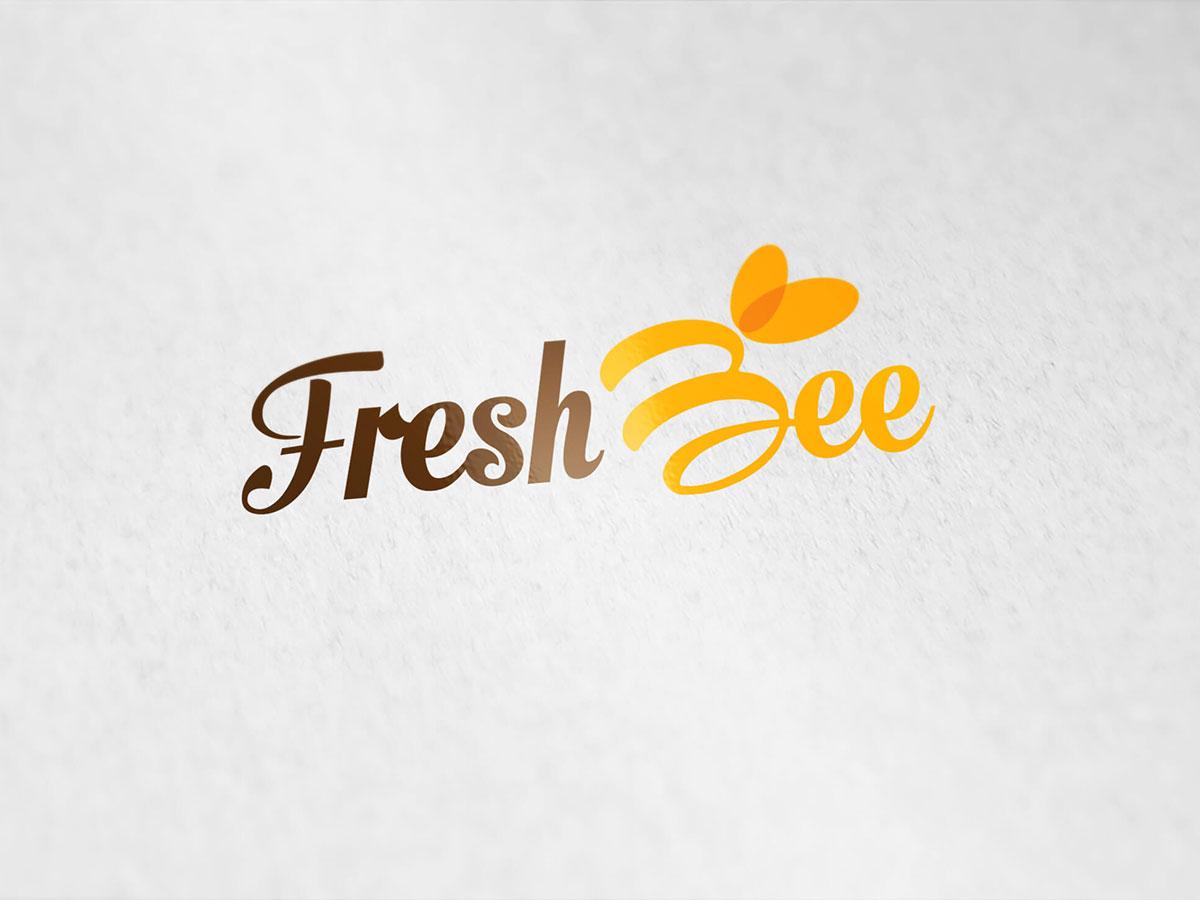 Thiết kế logo Fresh Bee tại TP HCM