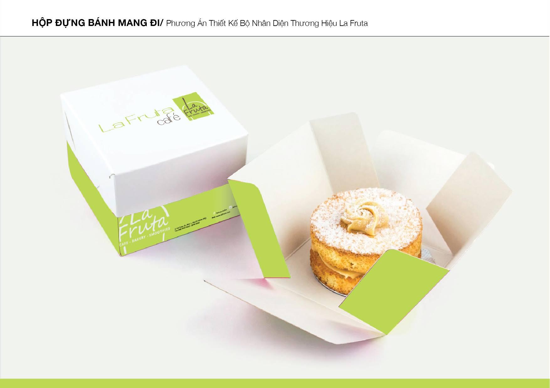 Dự án thiết kế nhận diện thương hiệu chuỗi cửa hàng café – nước trái cây tại TP HCM