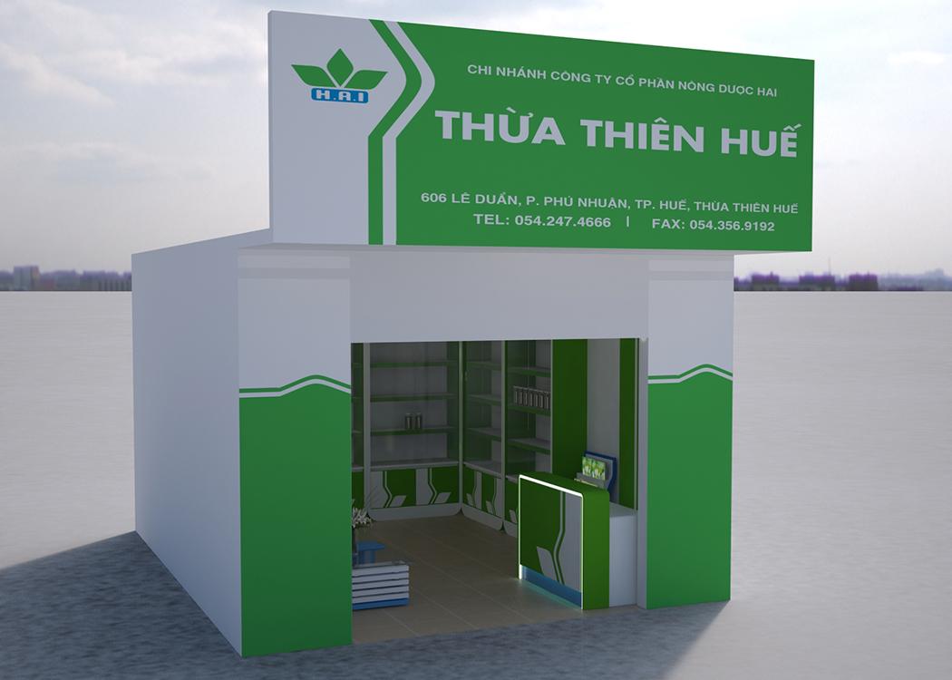 Thiết kế logo và hệ thống nhận diện thương hiệu Nông Dược HAI tại TP HCM
