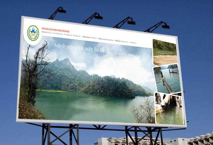 Thiết kế ấn phẩm quảng bá về khu vực Hồ Ba Bể tại Bắc Kạn