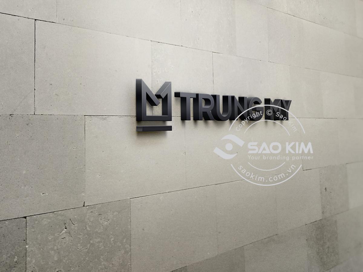 Thiết kế logo bất động sản Trung Mỹ tại TP HCM