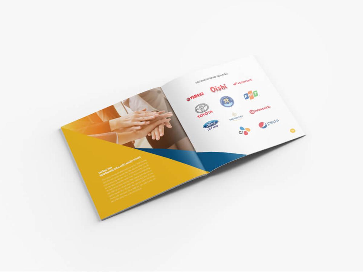 Thiết kế và biên soạn nội dung profile Thiện Quang tại TP HCM
