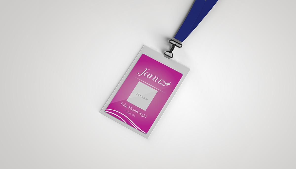 Thiết kế logo và nhận diện thương hiệu thời trang nữ JANUZ tại Cần Thơ