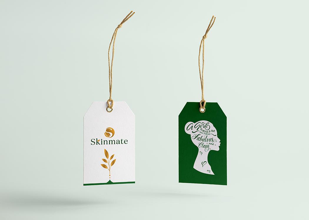 Thiết kế logo mới cho thương hiệu mỹ phẩm SKINMATE tại TP HCM