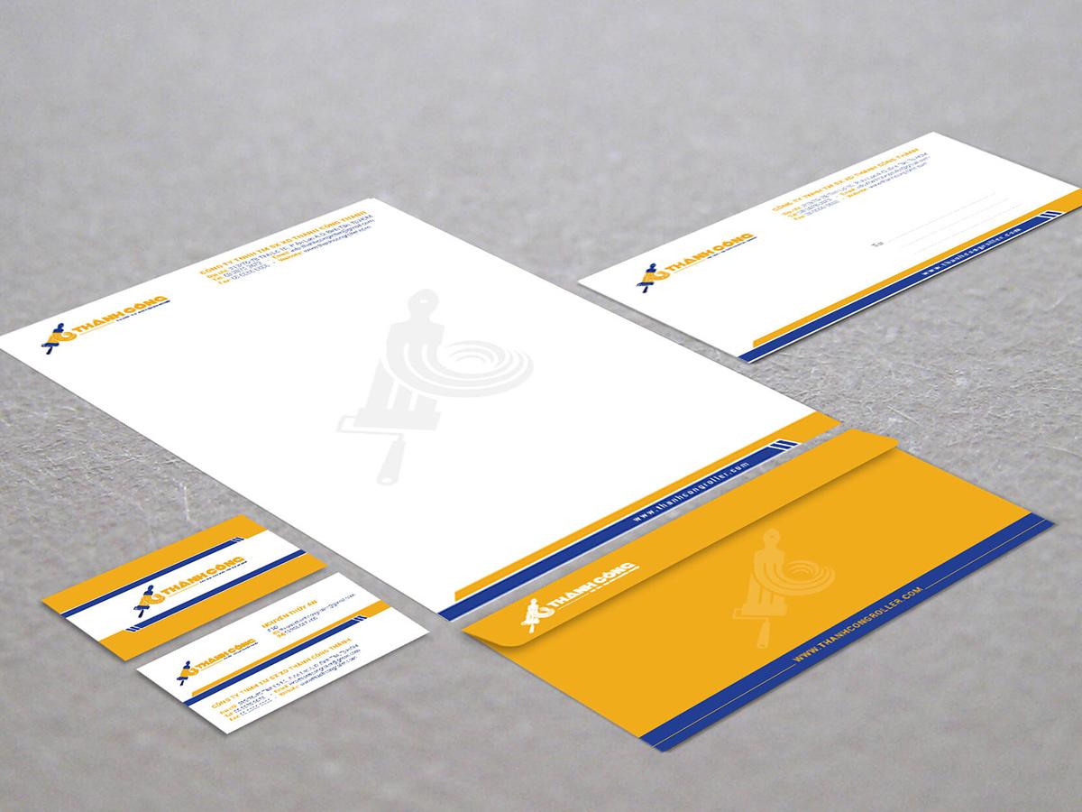 Thiết kế logo và nhận diện thương hiệu Thành Công tại TP HCM