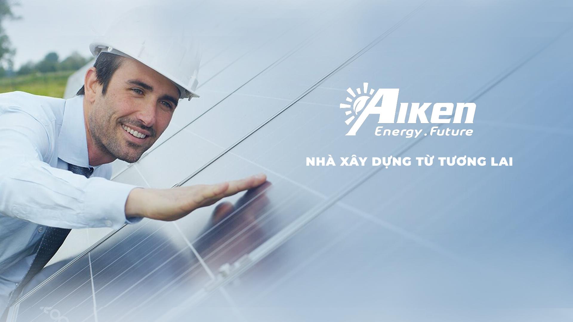 Thiết kế logo và hệ thống nhận diện thương hiệu AIKEN tại Hà Nội