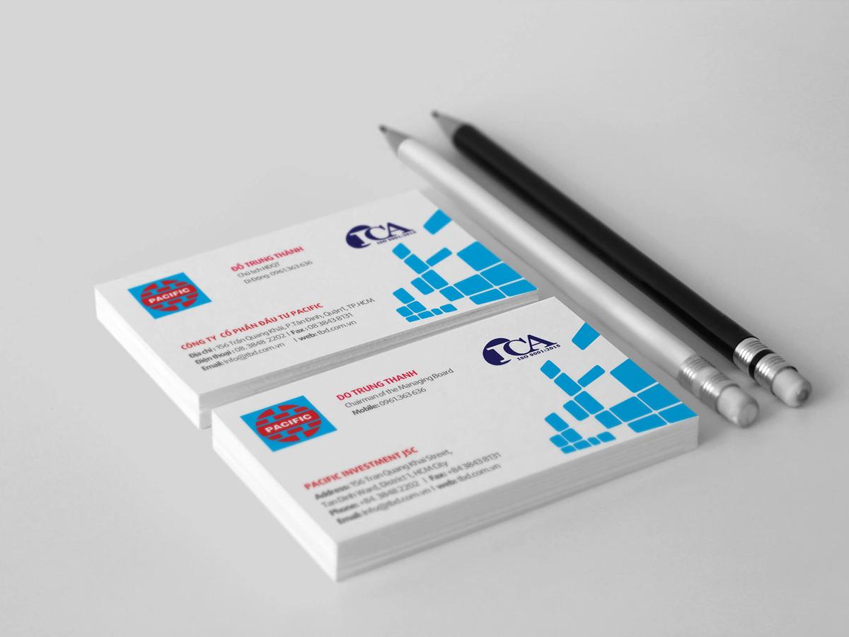 Thiết kế profile công ty cổ phần đầu tư Pacific tại TP HCM