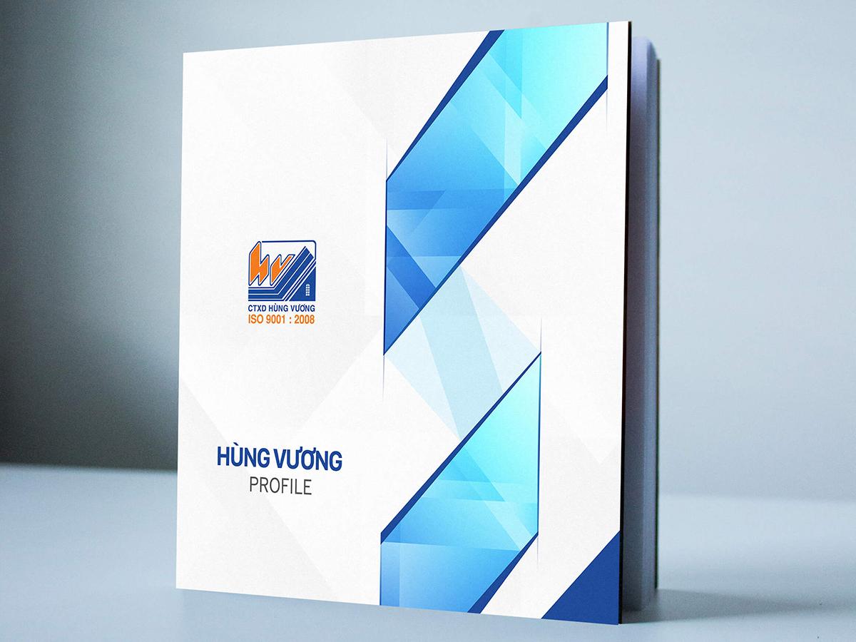 Thiết kế profile song ngữ tại TP HCM