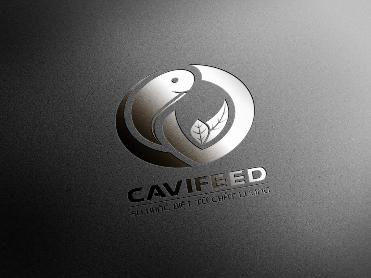 Thiết kế logo CAVIFEED tại Đồng Tháp