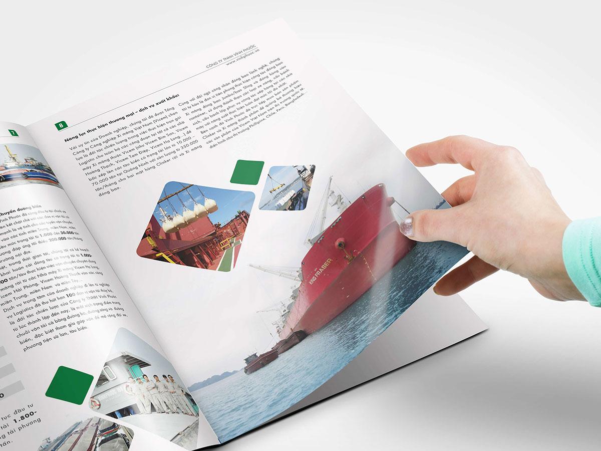 Thiết kế profile Vĩnh Phước tại Hải Phòng