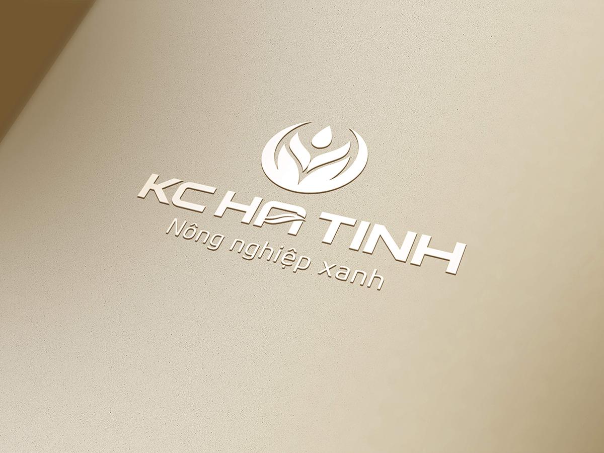 Thiết kế logo nông sản KC HÀ TĨNH tại Hà Tĩnh